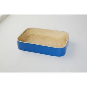 Bambusowy pojemnik Compactor Bamboo Blue, 31x22 cm