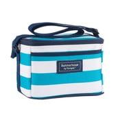 Jasnoniebieska torba termoizolacyjna w paski Navigate