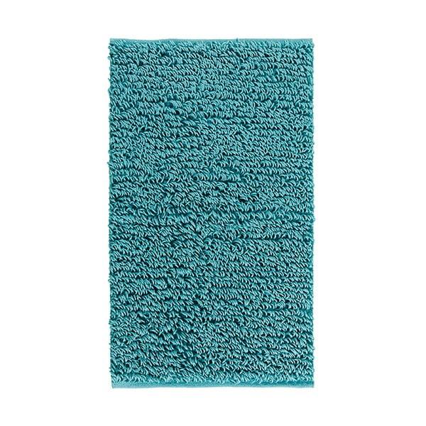 Dywanik łazienkowy Talin 60x100 cm, turkusowy