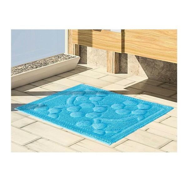 Mata łazienkowa Papatya Turquoise, 50x60 cm