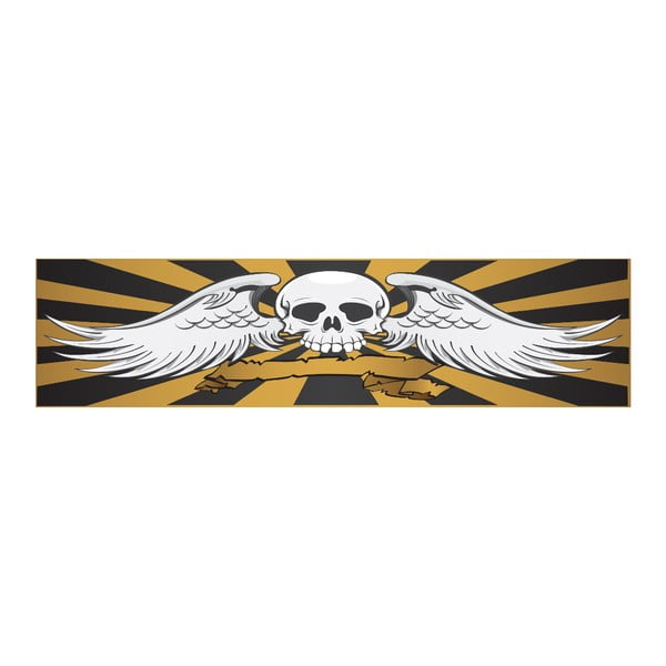 Łóżko Karup Rock-o Black/Skull