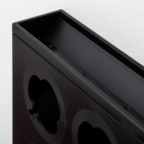 Pionowa doniczka HOH! Nero, 38x27 cm