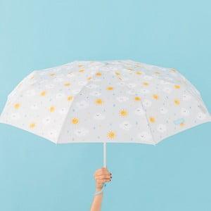 Szara parasolka Mr. Wonderful Cloudy, szer. 108 cm
