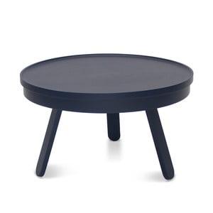 Niebieski stolik ze schowkiem Woodendot Batea M