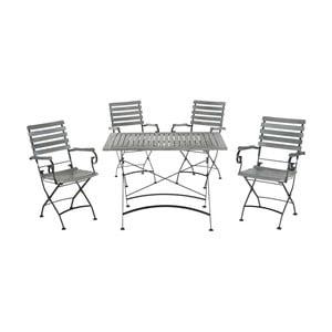 Stół i 4 krzesła ogrodowe Lawndale