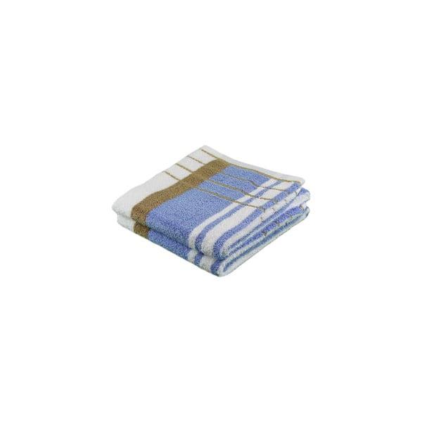 Ręcznik Berlin Blue/Beige, 70x140 cm