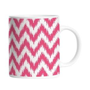 Ceramiczny kubek Pink Waves, 330 ml