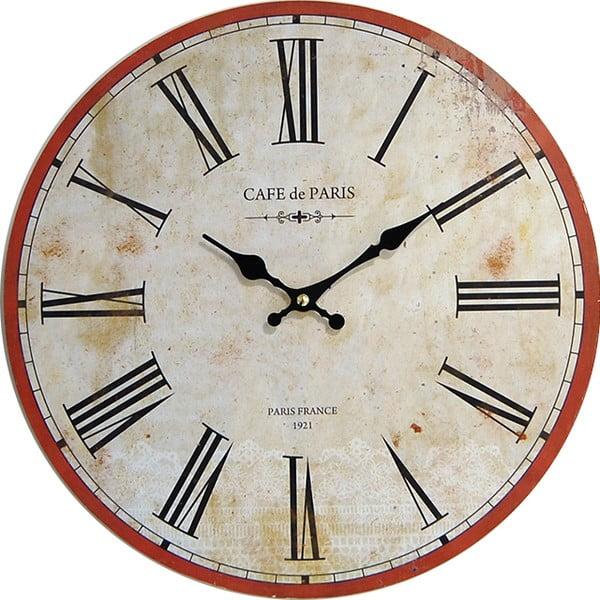 Zegar ścienny Cafe de Paris