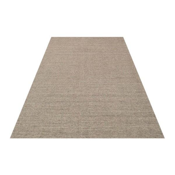 Dywan wełniany Barbora Light Grey, 140x200 cm
