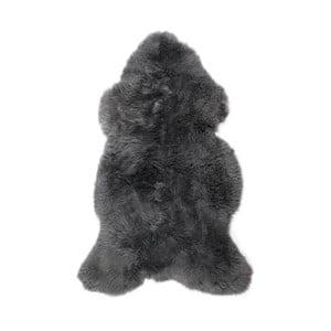 Ciemnoszara skóra owcza Swedo, 110x60cm
