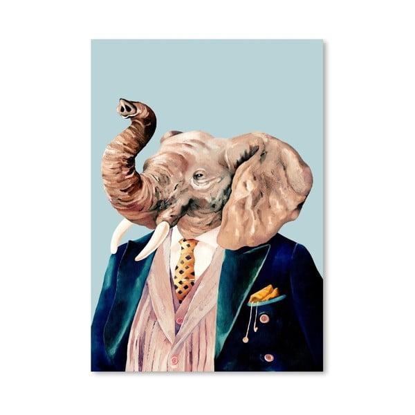 """Plakat """"Elephant"""", 42x60 cm"""