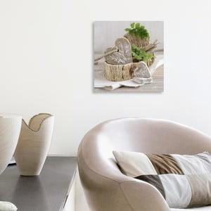 Obraz na płótnie Pure Nature's Feeling 20x20 cm