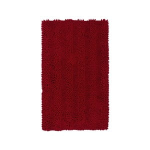 Dywanik łazienkowy Surface Bordeaux, 65x110 cm