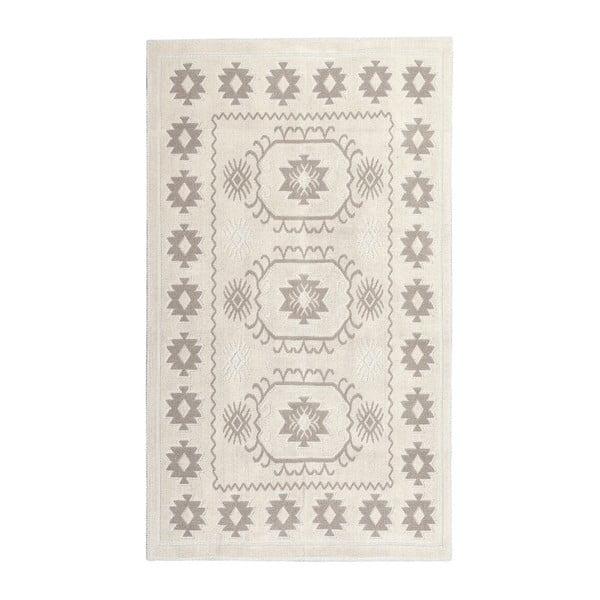 Kremowy dywan bawełniany Floorist Emily, 120x180cm