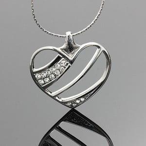 Naszyjnik Swarovski Elements Elegant Heart