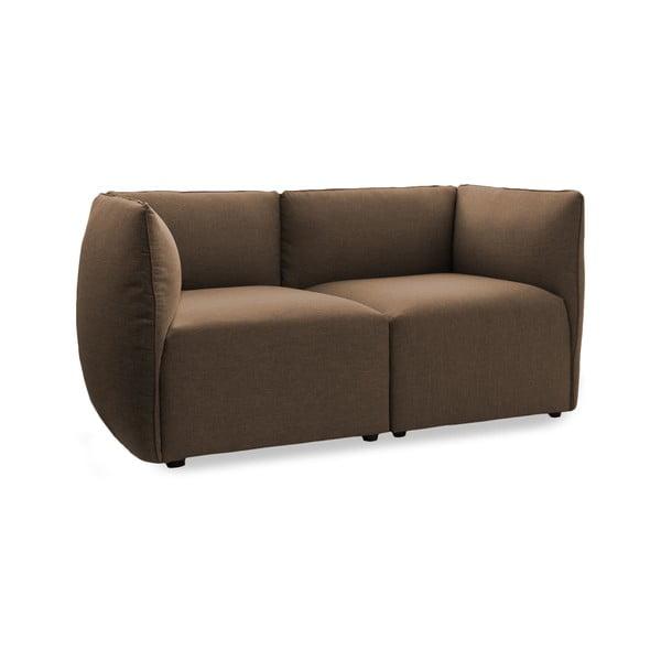Sofa dwuosobowa VIVONITA Cube Dark Beige