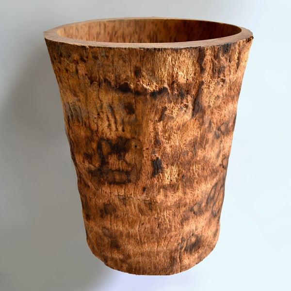 Palmowy wazon Palm Wood, 34 cm