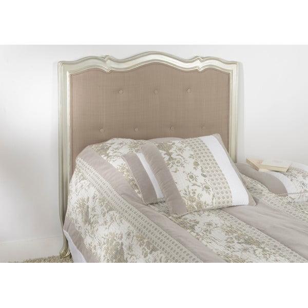 Wezgłowie łóżka Murano Silver, 104 cm