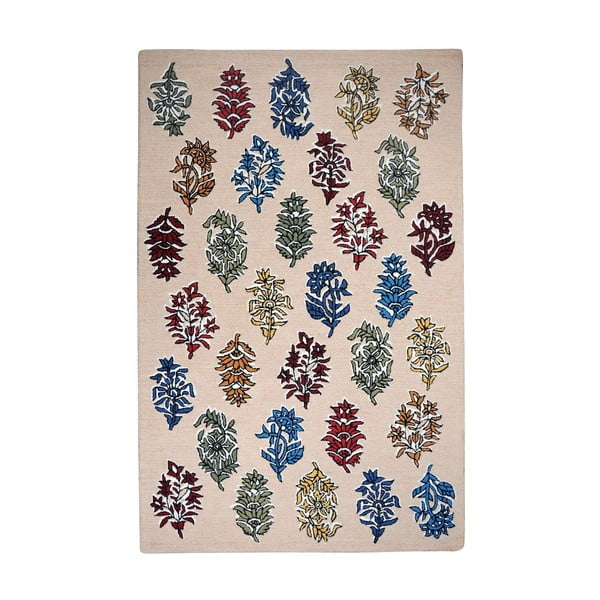 Wełniany dywan Balsam Beige, 160x230 cm