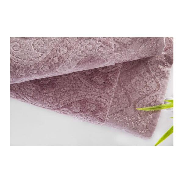 Zestaw 2 ręczników Sal Violet, 50x90 cm i 70x140 cm