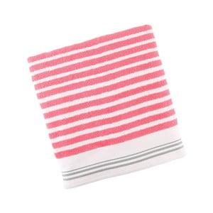 Ręcznik bawełniany BHPC White 80x150 cm, różowy
