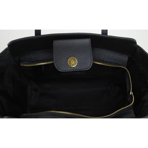 Skórzana torebka Borsa Nero