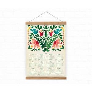 Kalendarz ścienny na rok 2017 Love Birds