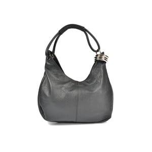 Czarna   torebka skórzana Carla Ferreri Andrea