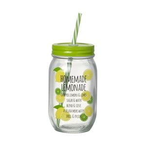 Słoik ze słomką Parlane Homemade Lemonade