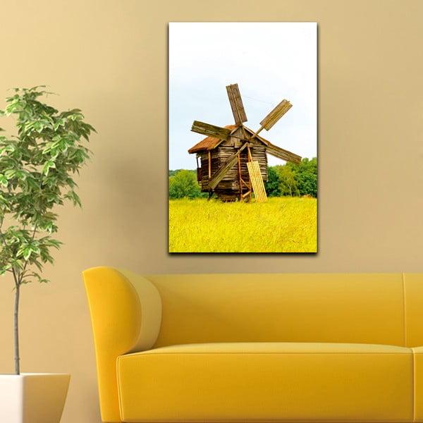 Obraz Drewniany młyn, 45x70 cm