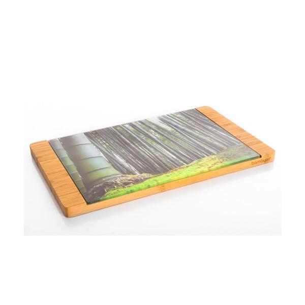 Bambusowa deska do krojenia Tortell, 39x30 cm