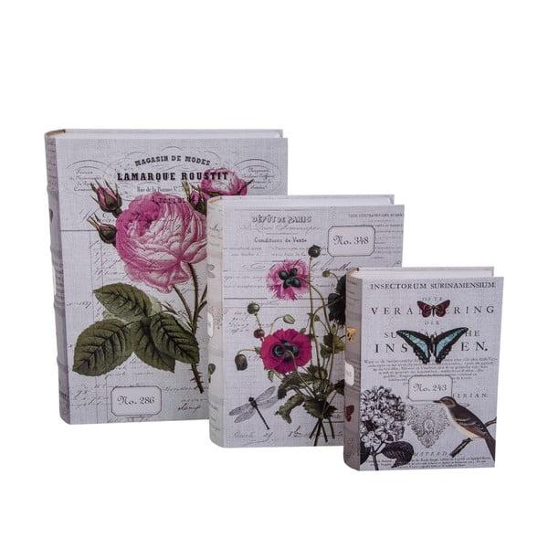 Zestaw 3 pudełek Di Libro