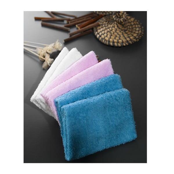 Zestaw 6 ręczników Hill Sea, 30x30 cm