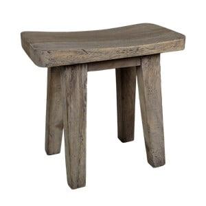 Taboret z drewna mungur HSM Collection Tooli