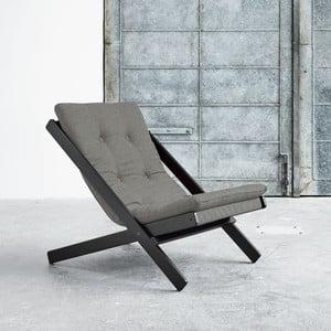 Fotel składany Karup Boogie Black/Granite Grey