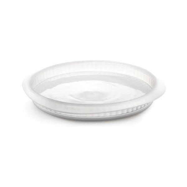 Forma na quiche z ceramicznym talerzem