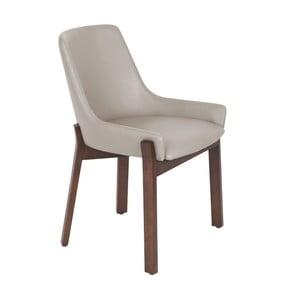 Beżowe krzesło Ángel Cerda Luna