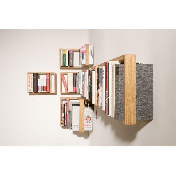 Narożna półka na książki b3, 50x35x34 cm