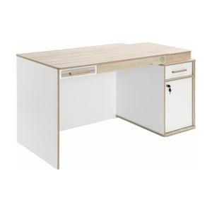 Białe biurko Dynamic Study Desk