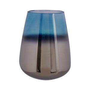 Niebieski wazon szklany PT LIVING Oiled, wys. 23 cm