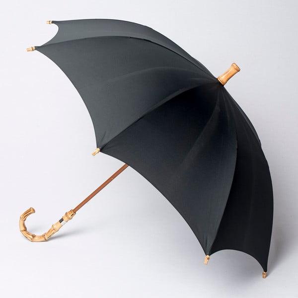 Parasol Alvarez Gents Bamboo Black