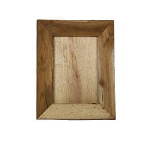 Ramka na zdjęcia z drewna tekowego HSM Collection Pigura, 35 x 45 cm