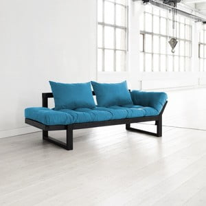 Sofa Karup Edge Black/Horizon Blue