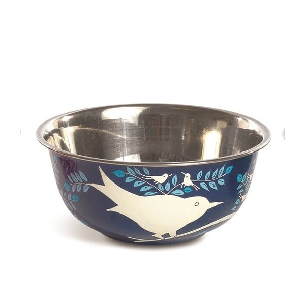 Miska Eva Hand Painted Bowl, ciemnoniebieska