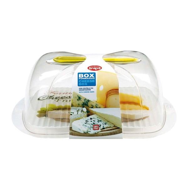 Deska na sery z kloszem i nożem Snips Cheese
