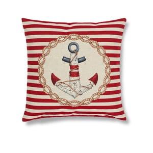Poszewka na poduszkę Maritim Anchor Red, 45x45 cm