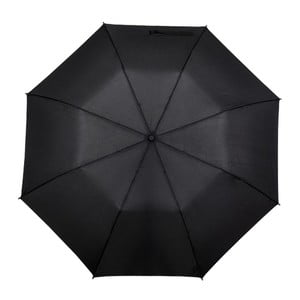 Czarna parasolka Minimalistic, ⌀123cm
