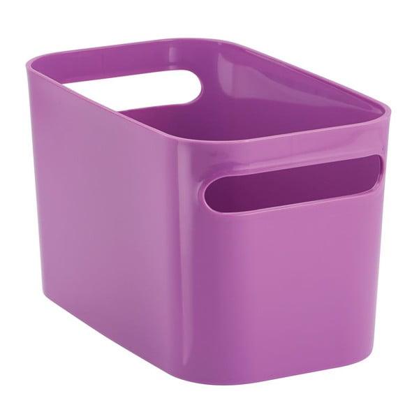 Pojemnik Una Purple, 25,5x15x15 cm