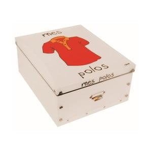 Pudełko na koszulki Incidence Mes Polos