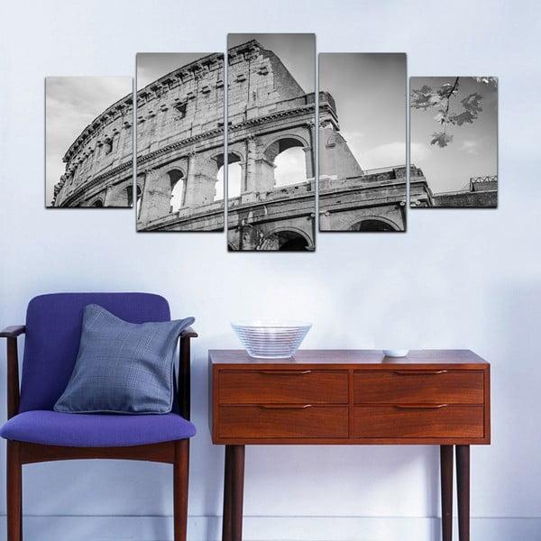 Wieloczęściowy obraz Black&White no. 93, 100x50 cm